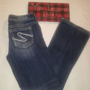 Silver Jeans Aiko bootcut size 28